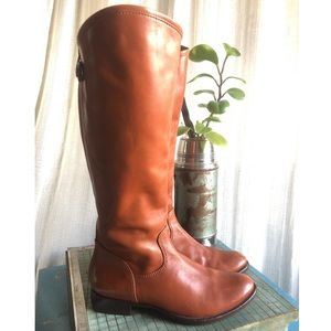 Corsa Como Brown Leather Riding Boots